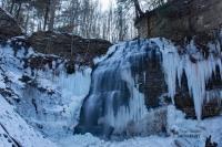 Tiffany Falls Frozen