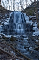 Sherman Falls Frozen
