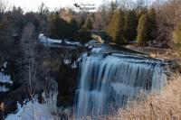 Webster's Falls Frozen
